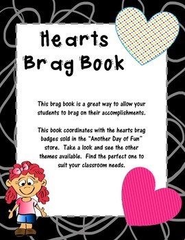 Brag Book-Hearts Theme