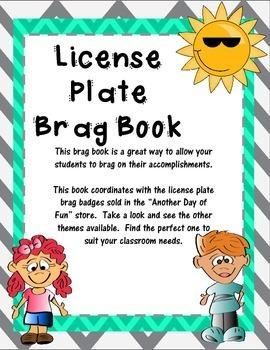 Brag Book-License Tag Theme