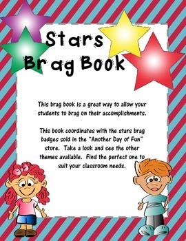 Brag Book-Stars Theme