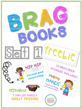 Brag Books - Stickers FREEBIE