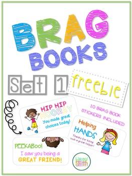 Brag Books - Stickers Set 1 *FREEBIE*