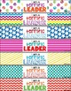 Brag Bracelets - Art Room Version - Classroom Management (Color & Bl&Wh)