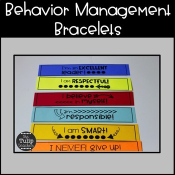 Brag Bracelets {Behavior Management, Goal Setting, Academics}