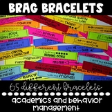 Brag Bracelets {Behavior Management, Goal Setting, Academics}
