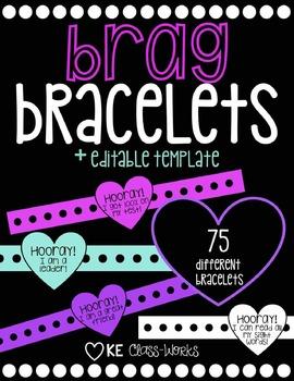 Brag Bracelets! (Editable)