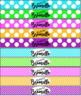 Brag Bracelets- Editable