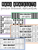 Brag Bracelets Editable *Print on Colored Paper to Save Ink*