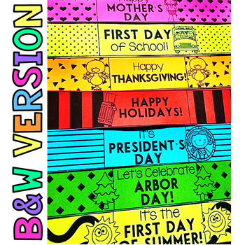 Brag Bracelets - Holiday & Special Days Edition