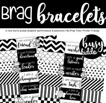 Brag Bracelets- Printer friendly