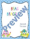 Brag Bracelets-Spanish