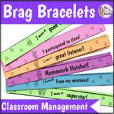 Brag Bracelets for Classroom Management