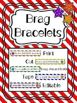 Brag Bracelets for Positive Reinforcement