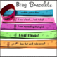 Brag Bracelets for Reading