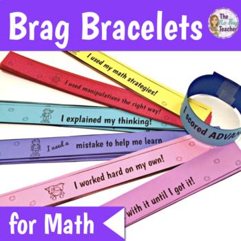 Brag Bracelets for Math