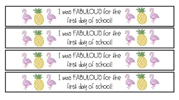 Brag Bracelets for The First Day of School
