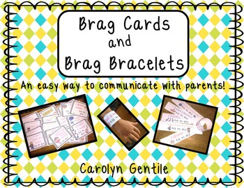Brag Cards and Bracelets!