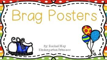 Brag Posters (Back to School Freebie)