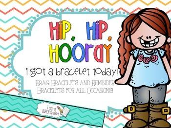 Brag & Reminder Bracelets {For everything!}