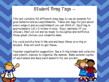 Brag Tag Awards