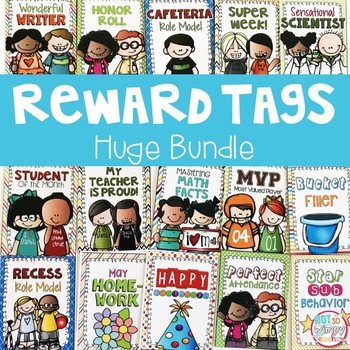 Not So Wimpy Teacher's Brag Tags Bundle, available on TpT
