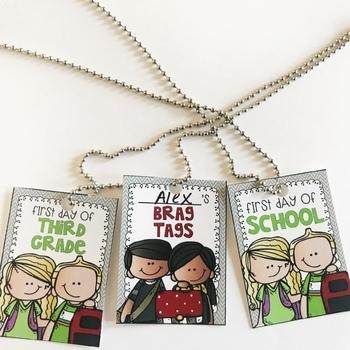 Brag Tag Back to School FREEBIE