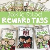 Reward Tag Back to School FREEBIE
