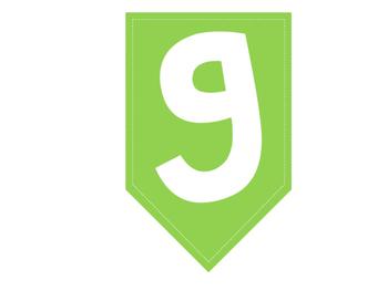 Brag Tag Banner - Greens