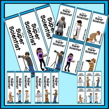 Brag Tag Bookmarks Scientists