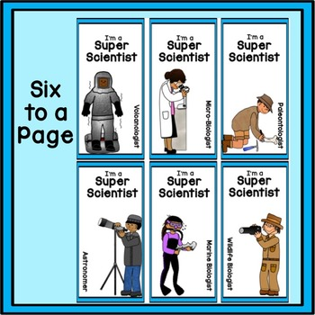 Science Award: Scientists Bookmarks