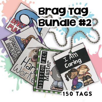 Brag Tags Bundle #2 (250 pages!)