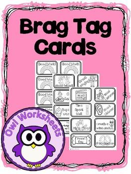 Brag Tag Cards