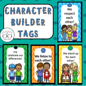 Brag Tag : Character Builders