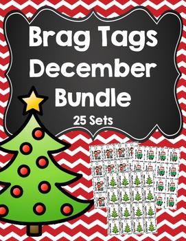 Brag Tag December Bundle