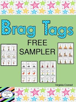 Brag Tag FREE Sampler