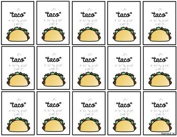 Taco Brag Tag FREEBIE!