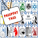Brag Tag : Passport Stamps of the World