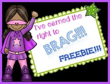 Brag Tag ~ Freebie