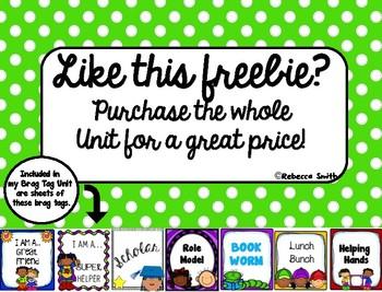 Brag Tag Freebie