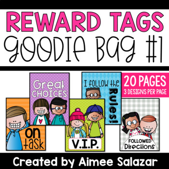 BRAG TAGS {Goodie Bag #1}