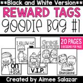 BLACK & WHITE Reward Tags {Goodie Bag #1)