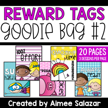 BRAG TAGS {Goodie Bag #2}