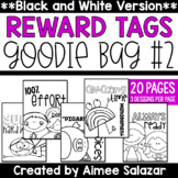 BLACK & WHITE Brag Tags {Goodie Bag #2)