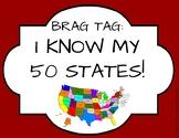 Brag Tag: I know my 50 States!
