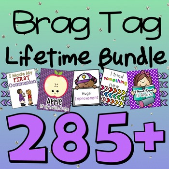 Brag Tag LIFETIME BUNDLE
