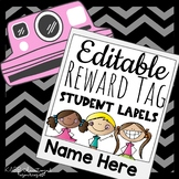 Reward Tag Name Plates! Auto-Populating and so Easy to use!