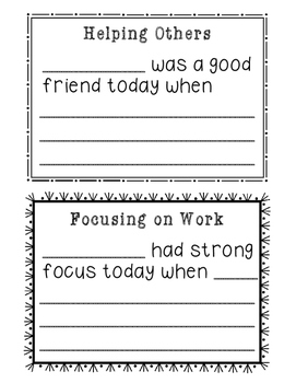 Brag Tag Notes
