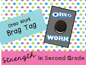 Brag Tag - Oreo Work