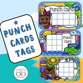 Brag Tag :Punch Cards
