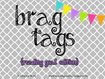 Brag Tag Reading Goal Collection