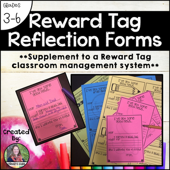 Brag Tag Reflection Forms